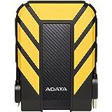 ADATA HD710 Pro 2TB USB 3.1 IP68 Waterproof/Shockproof/Dustproof Ruggedized External Hard Drive, Yellow (AHD710P-2TU31…