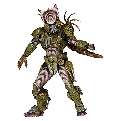 "NECA Predator Scale Series 16 Spike Tail Action Figure, 7"": Toys & Games"