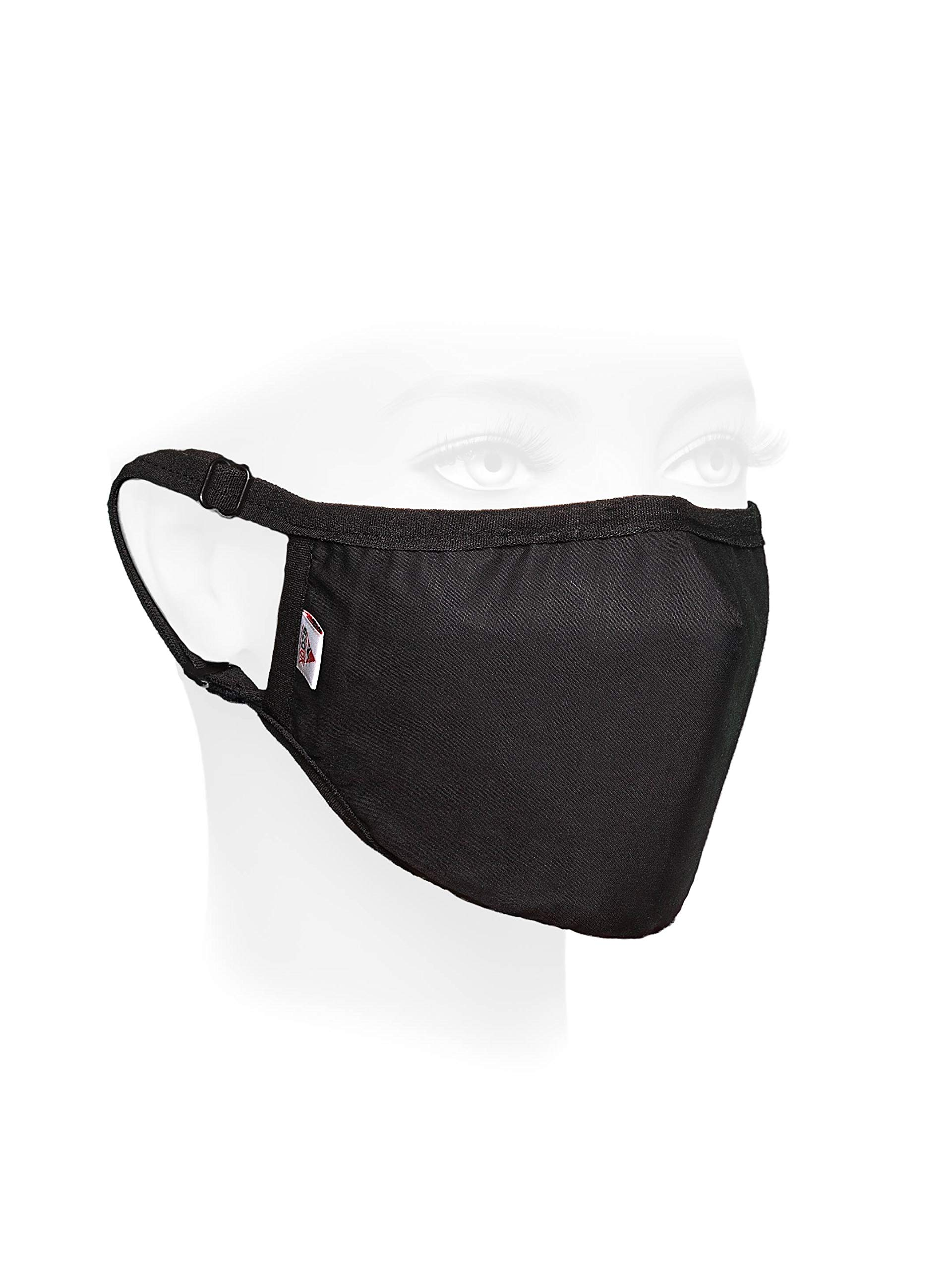 Dustproof Anti Pollution Smoke Protection Cotton Mouth Face Mask with 10 Activated Carbon N99 Filters Adjustable Straps Respirator and Carry Bag. Washable Reusable Air Dust Anti-bacterial Proof
