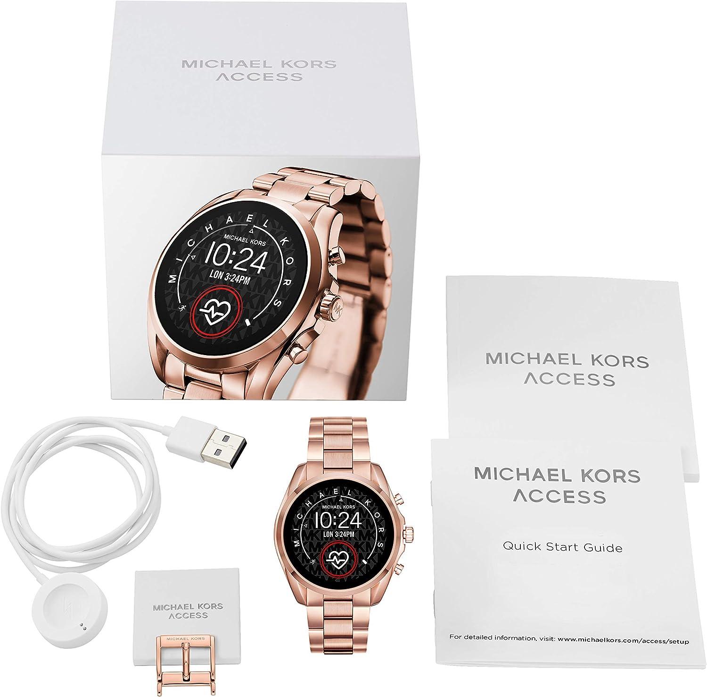 Michael Kors Smartwatch Pantalla táctil para Mujer de Connected con Correa en Acero Inoxidable MKT5086: Amazon.es: Relojes