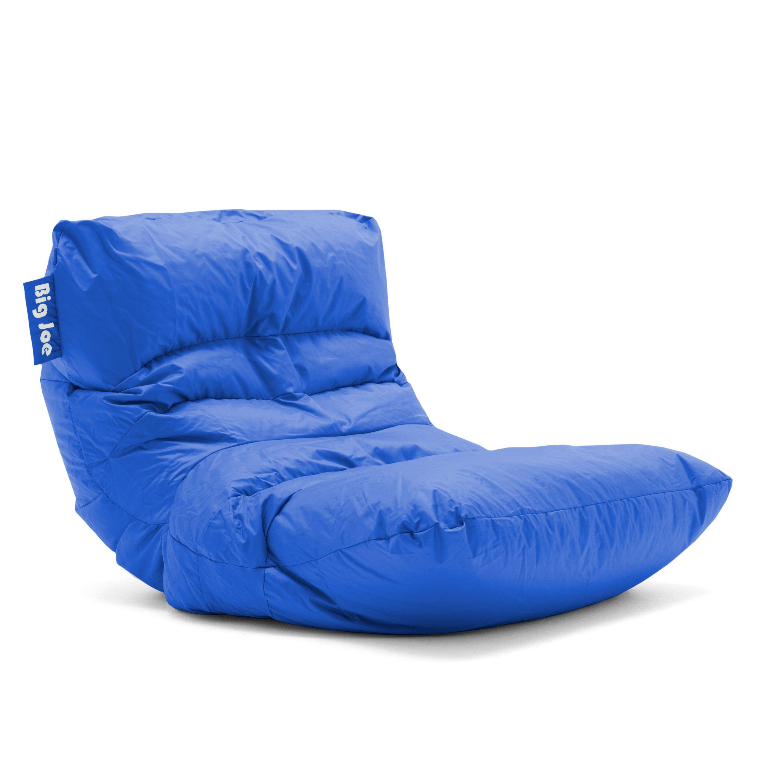 Big Joe Roma Bean Bag Chair, Sapphire by Big Joe