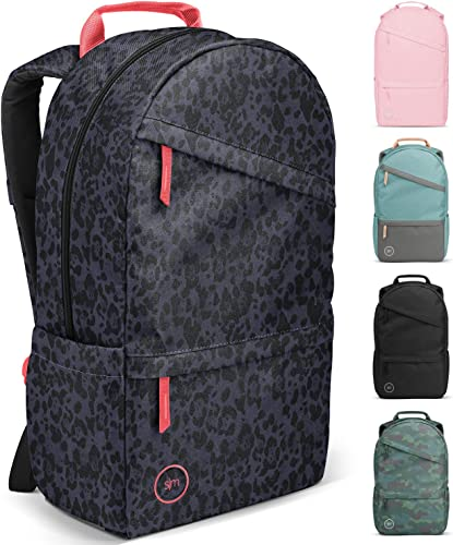 Simple Modern Legacy Backpack with Laptop Compartment, Pink Panther, 25 Liter