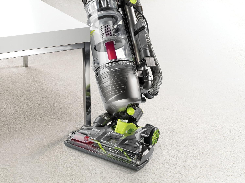 Hoover UH72450 Sin bolsa Gris aspiradora de pie y escoba eléctrica - Aspiradora escoba (Sin bolsa, Gris, UL, Secar, HEPA, Multi cyclonic/filtering): ...
