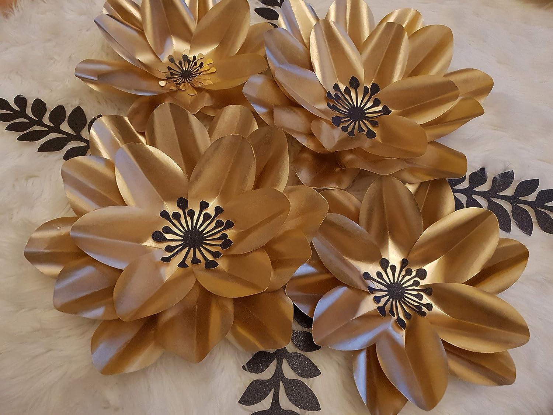Paper Flower Decor Backdrop Wall Nursery Decor Girls Bedroom Room Decor Party Decoration Amazon Co Uk Handmade
