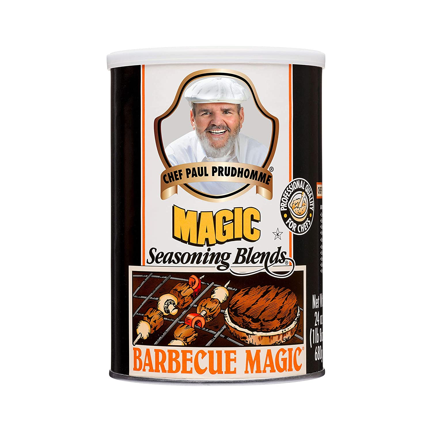 Chef Paul Prudhomme's Magic Seasoning Blends ~ Magic Barbecue Seasoning, 24-Ounce Canister