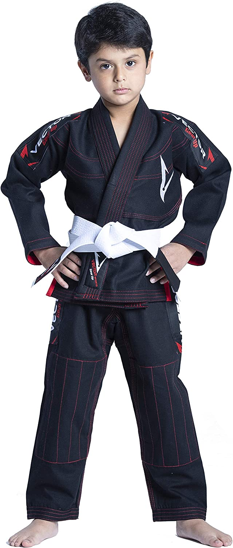 Vector Sports Brazilian BJJ Gi Jiu Jitsu Gi for Child Kids Grappling gi Uniform Kimonos Ultra Light /& Durable Pants Trouser /& Jackets Pre-Shrunk Pearl Weave 100/% Cotton Fabric Attila Series Free Belt