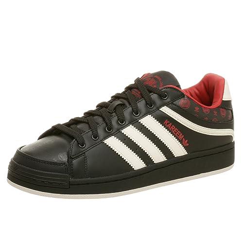 on sale 3b66a eca6c Adidas Originals Men s Kaj Low Shoe,Black Bone,9.5 M