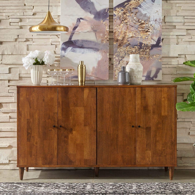 Modern Rustic Mid-Century Buffet Sideboard Storage Cabinet ...