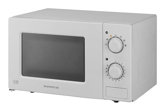 Amazon.com: Daewoo 20 litros MANUAL 700 W Microondas ...