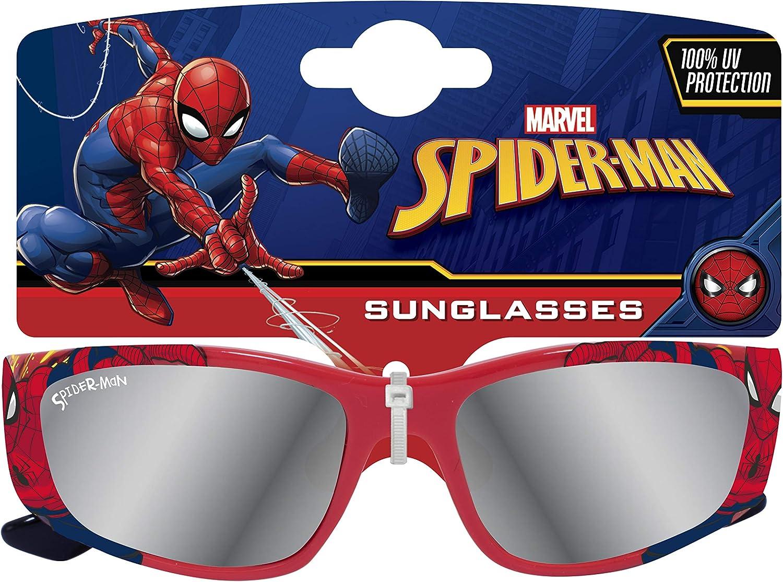 Lunettes de Soleil Miroir pour Enfants Spiderman Protection 100% UV