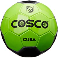 Cosco Cuba Foot Ball, Size 5 (Green and Black)