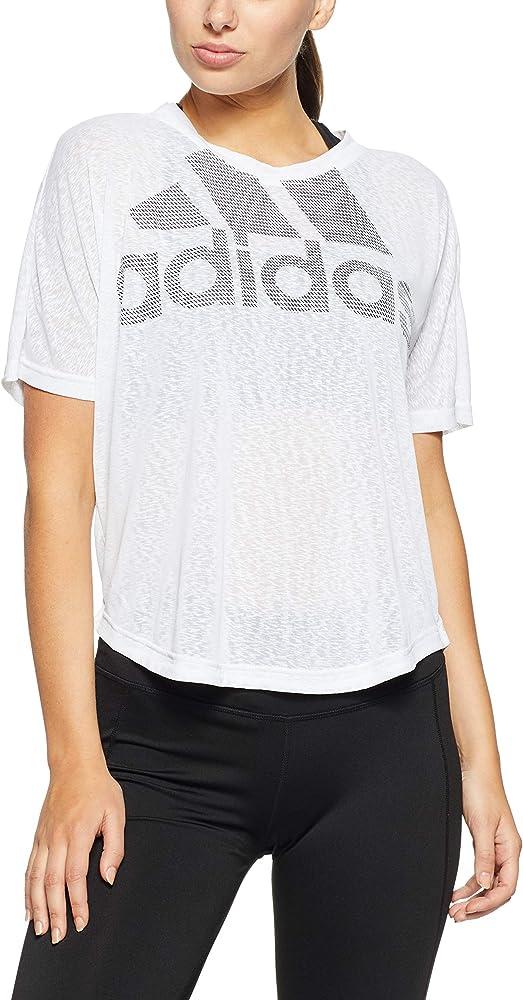 adidas CZ8005 XS Camiseta Deporte, Blanco (White White), 32 (Talla del Fabricante: X-Small) para Mujer: Amazon.es: Deportes y aire libre