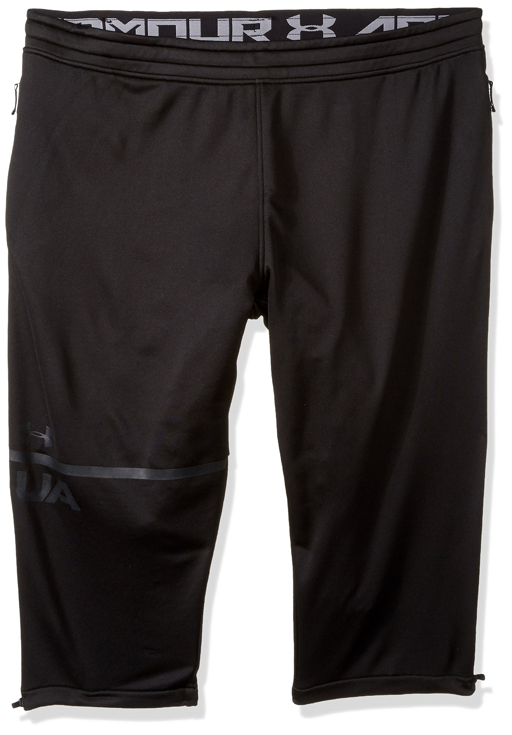 Under Armour Men's MK-1 Terry 3/4 Pants, Black (001)/Anthracite, Small