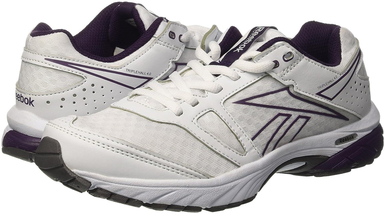 Sneaker Triplehall 4,0, Damen Sportschuhe, White/Royal Orchid/Grey EU 38 Reebok