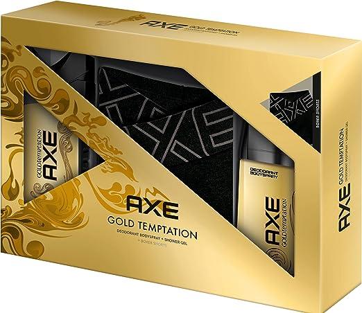 Axe regalo Pack Gold Temptation: Body Spray, gel de ducha y ...