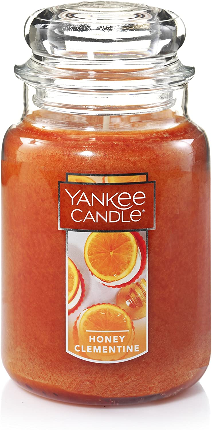 Yankee Candle Large Jar Candle, Honey Clementine