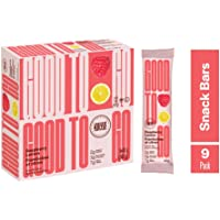 GOODTO GO Raspberry Lemon Soft Baked Bars, Net Weight/Bar 1.41 oz. Caddies. Each caddy carries 9 snack bars; this Delicious Snacks Contain Organic Ingredients, Keto Certified Non-GMO Project Verified, Gluten Free Ingredients, Peanut Free, Vegan, Kosher