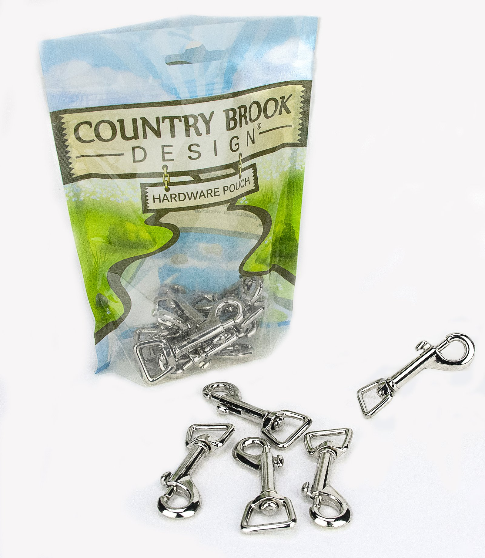 50 - Country Brook Design | 5/8 Inch Swivel Snap Hooks by Country Brook Design