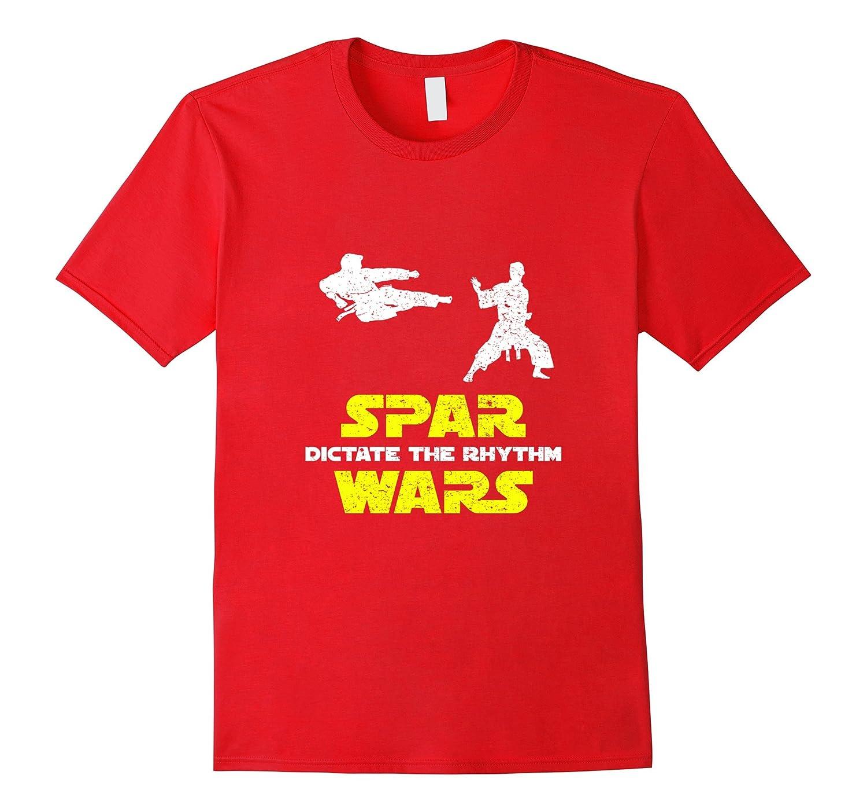 Spar Wars Kung Fu Taekwondo Ninjutsu Jujutsu Krav Maga Shirt-Vaci
