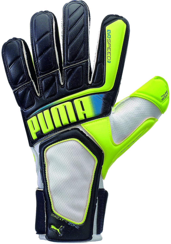 Puma evoSPEED 3.2サッカーゴールキーパーグローブ B00DSYA2QW 8|ブラック ブラック 8