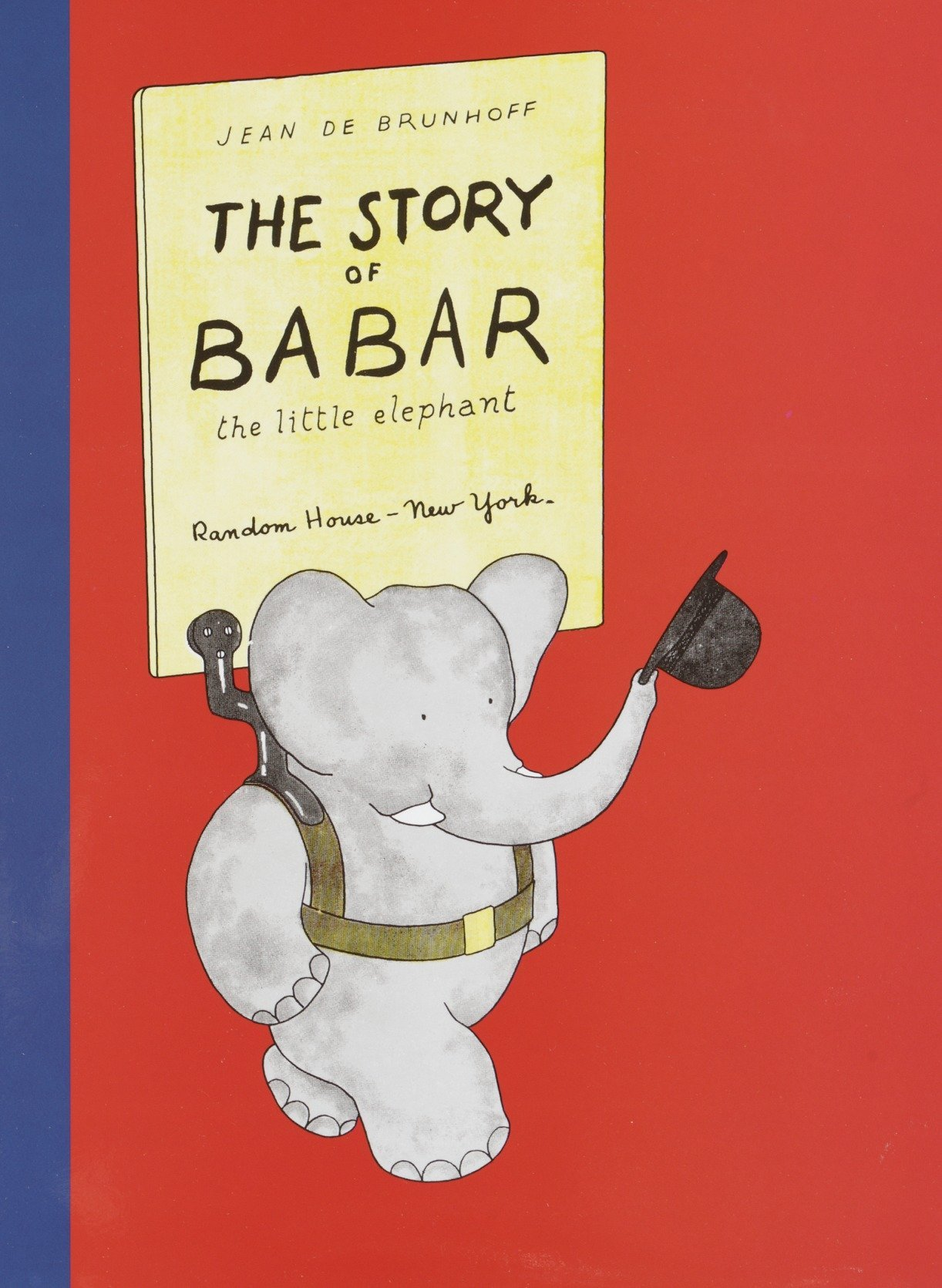 The Story of Babar: The Little Elephant: De Brunhoff, Jean ...