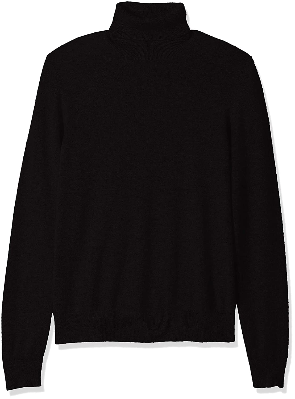 1145ce2b14 Amazon.com  Amazon Brand - BUTTONED DOWN Men s 100% Premium Cashmere  Turtleneck Sweater  Clothing