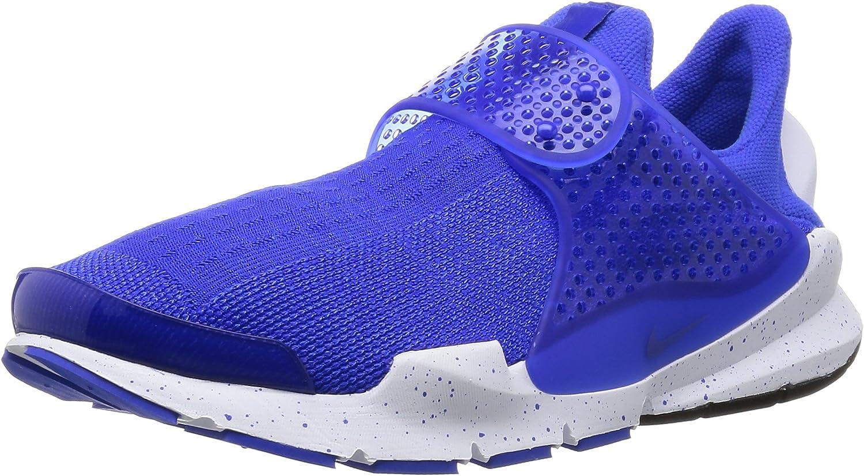 Nike Mens Sock Dart SE Blue Racer Blue White Mesh Size 8
