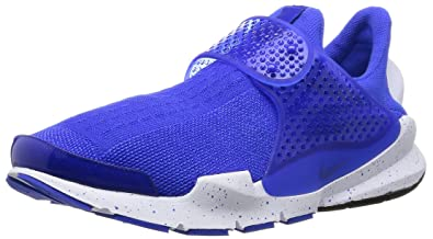 check out 22db2 3c1c4 Nike Men s Sock Dart SE Racer Blue, Racer Blue, White Fabric Running Shoes 8