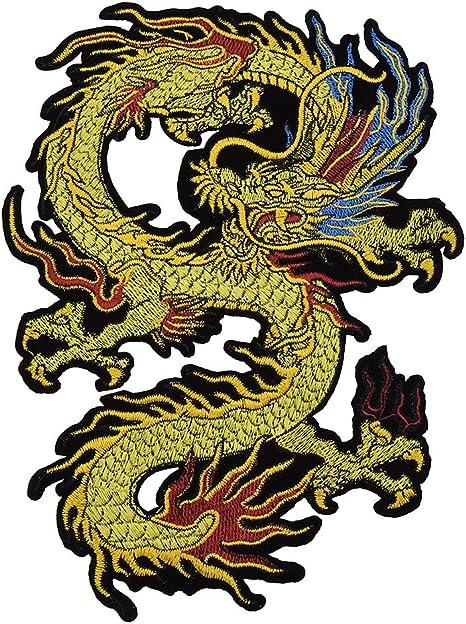 La Chine Dragon Bügelbild Écusson Application Patch Coudre bricolage Décoration