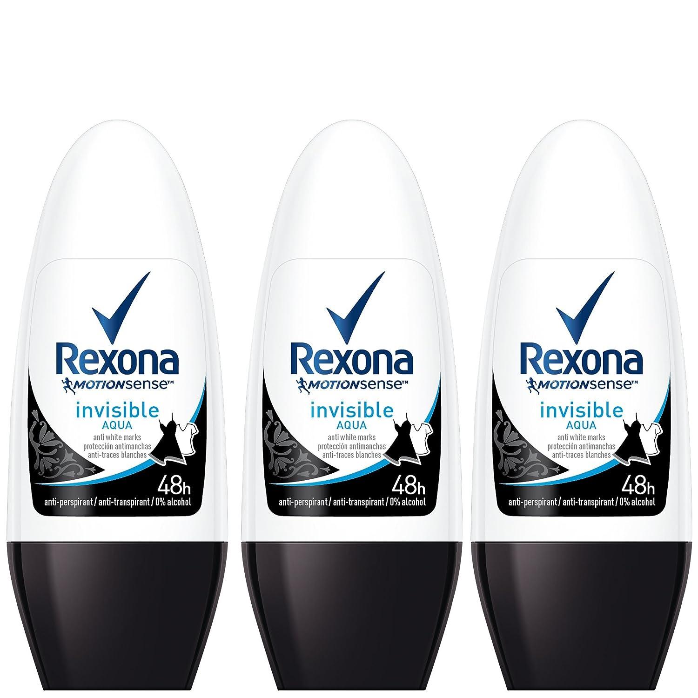 Rexona Invisible Aqua Deo Roll-On Desodorante - 50 ml: Amazon.es: Belleza