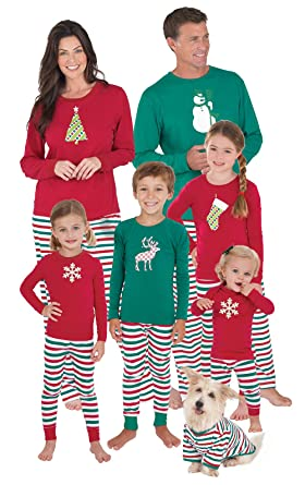 Amazon.com  PajamaGram Matching Family Christmas Pajamas 9a6cfc8f4