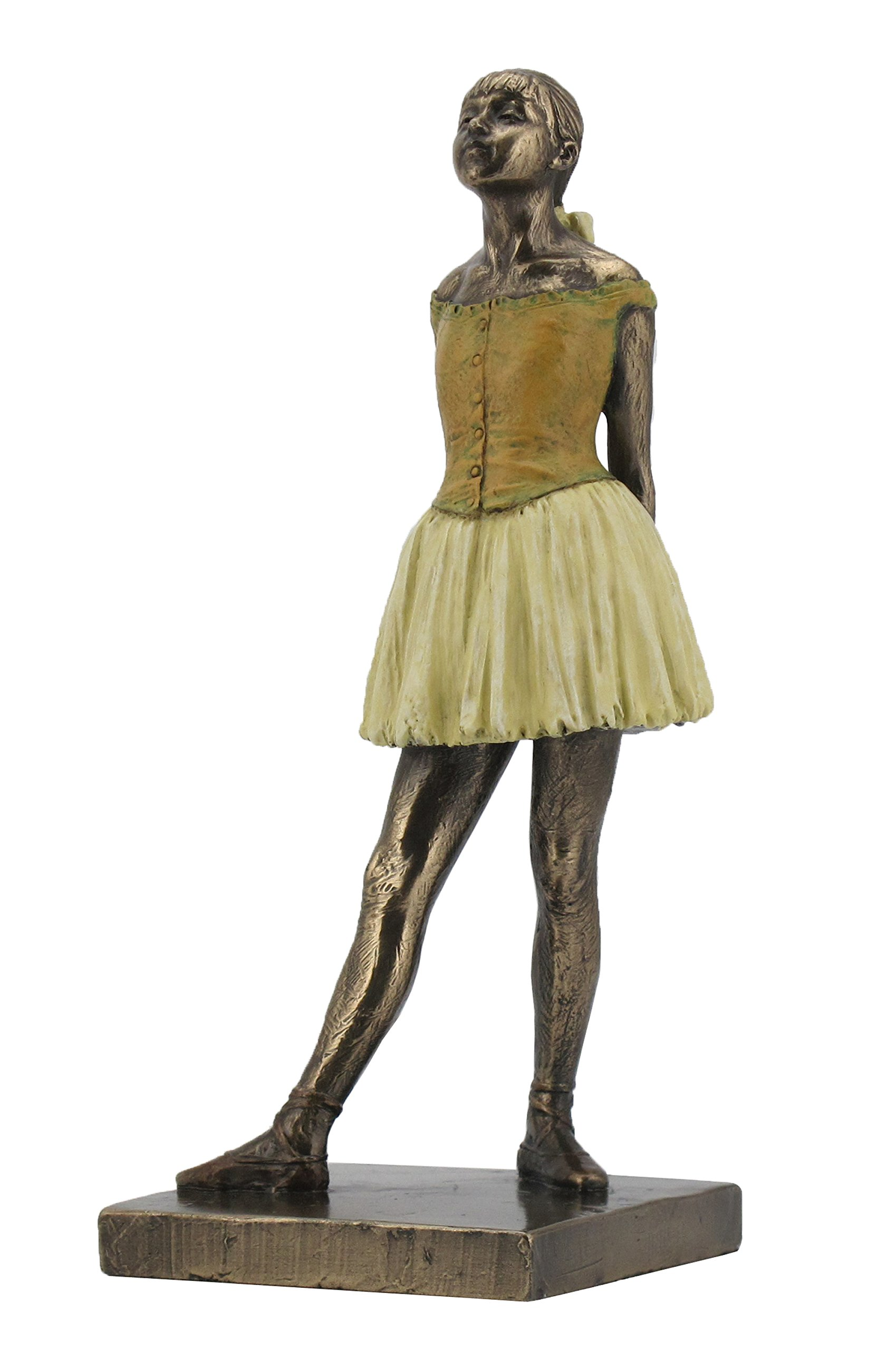 Degas ''Little Dancer'' Ballerina Statue (7.25'' Tall) by Veronese (Image #1)