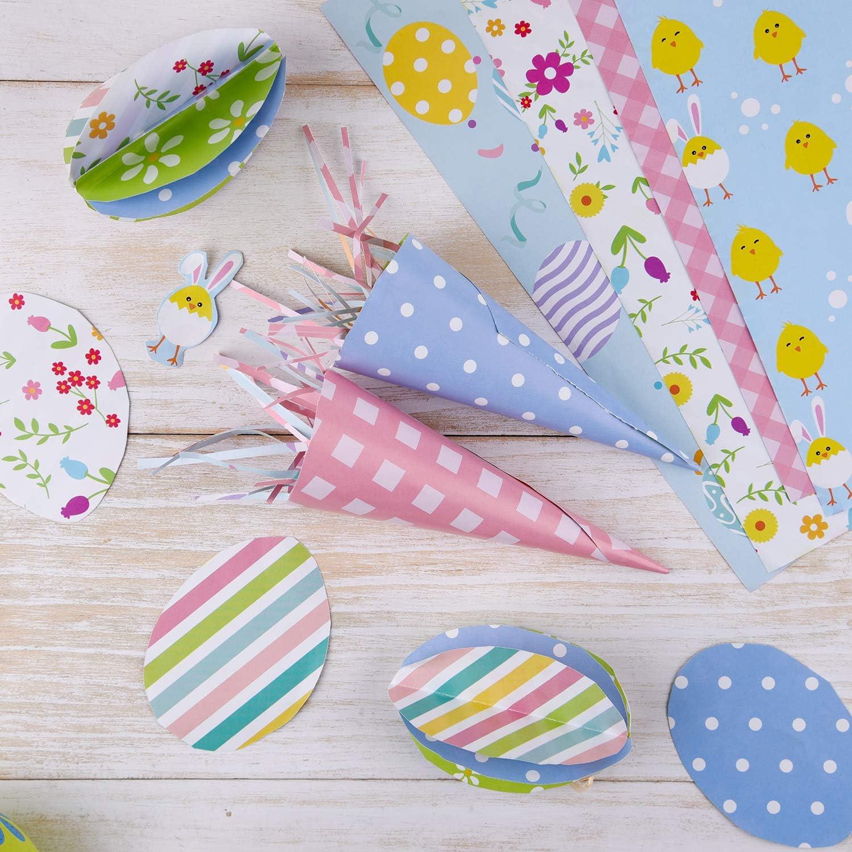 FEPITO Lot de 10 feuilles de papier d/écoratives pour scrapbooking et d/écoration de No/ël 14 x 21 cm A4-30pcs