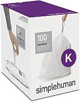 simplehuman Code E Custom Fit Drawstring Trash Bags