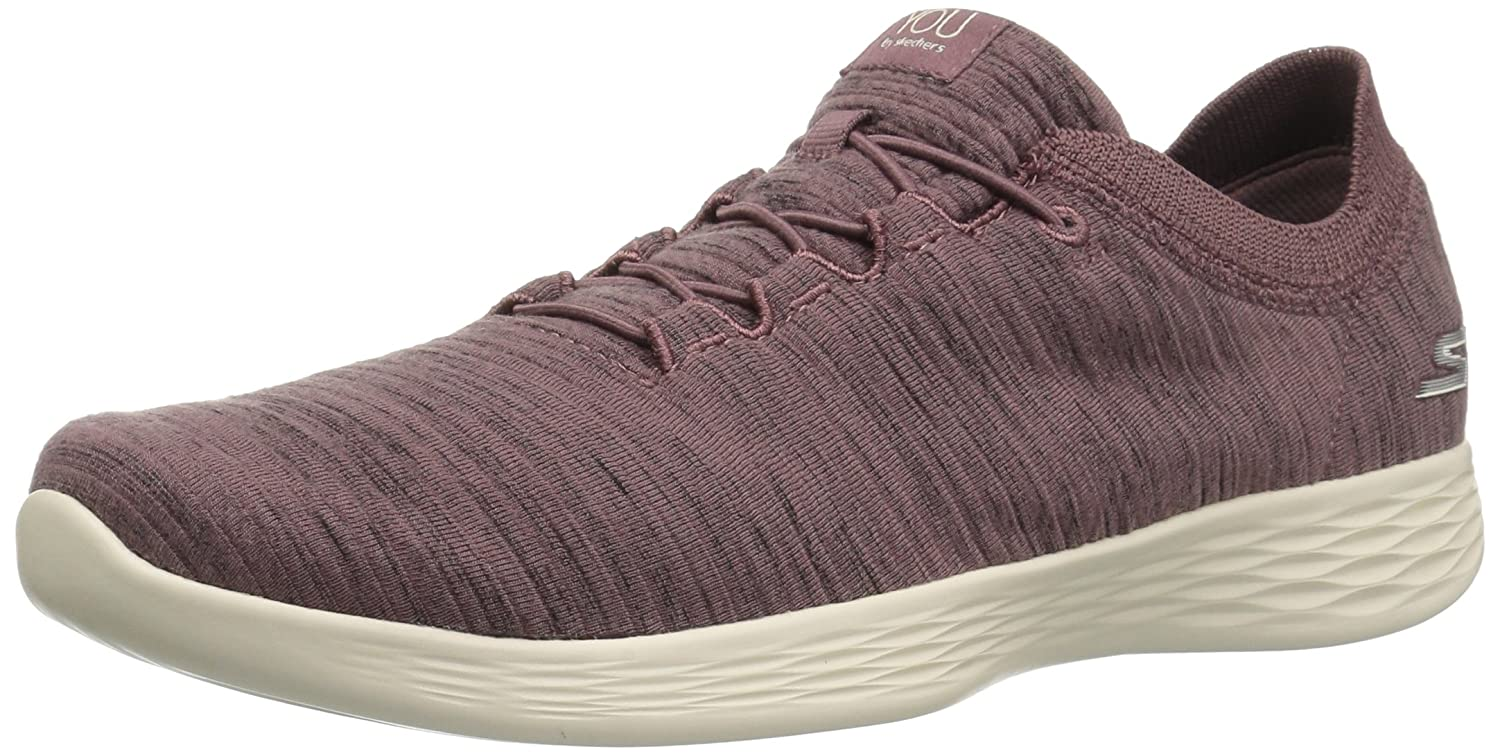 Skechers You Define-Passion, Zapatillas sin Cordones para Mujer 40 EU|Morado (Mauve Mve)