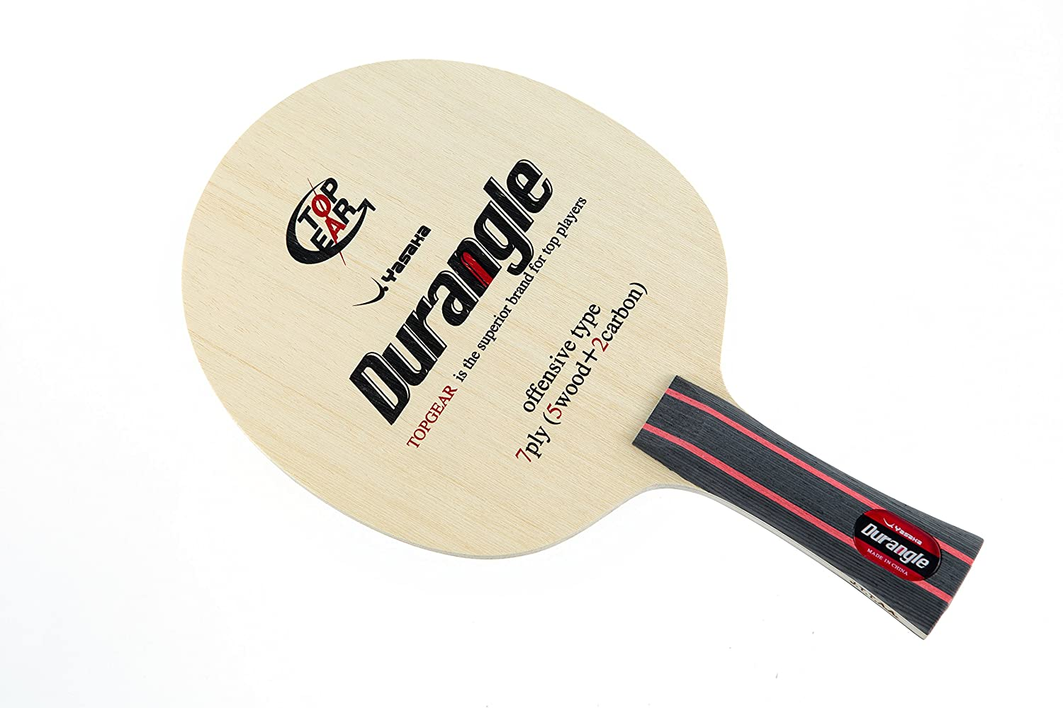 Amazon.com : Yasaka Durangle FL Table Tennis Racket : Sports ...