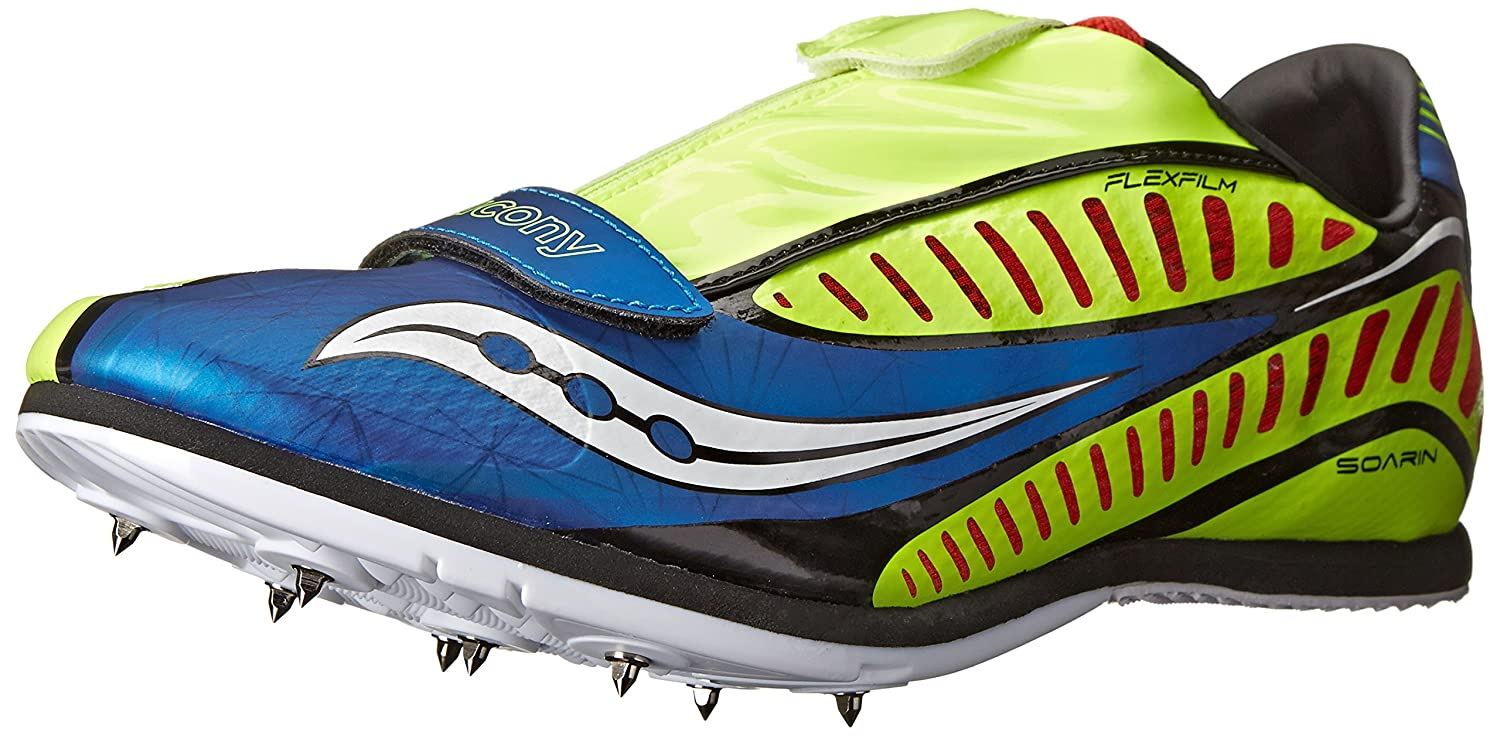 Amazon.com | Saucony Men's Soarin J Spike Track Shoe | Track & Field &  Cross Country
