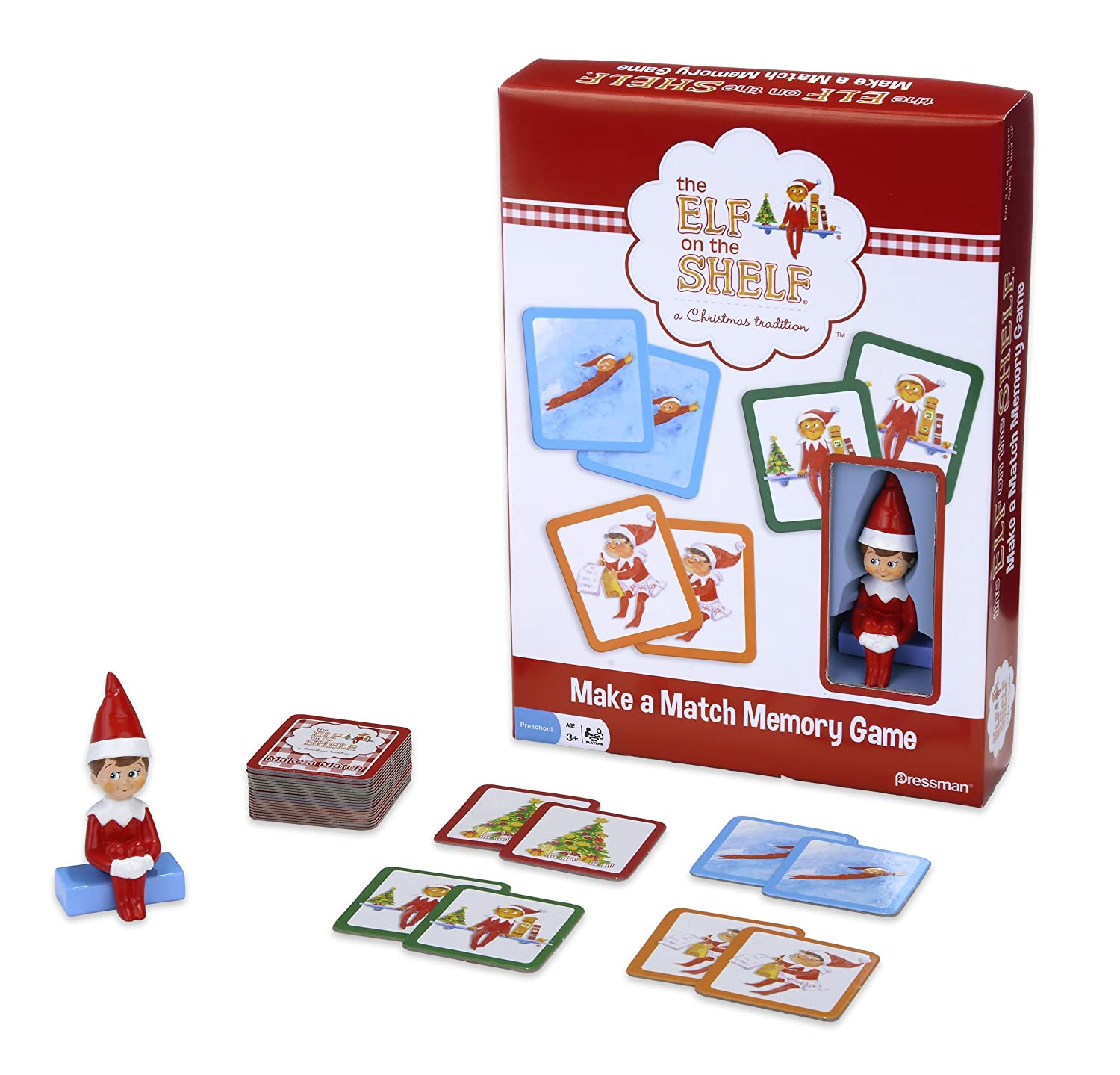 amazon com elf on the shelf make a match game based on the