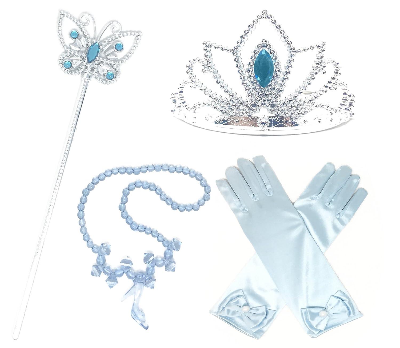 Dress up of cinderella - Princess Cinderella Dress Up Party 4 Piece Accessories Gift Set