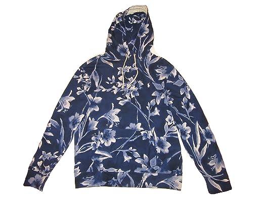 850b0b3d7 Amazon.com  RALPH LAUREN Polo Mens Spa Terry Floral Pullover Hoodie ...