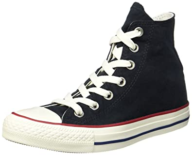 6010d00ef4e6 Converse Unisex Adults  CTAS Hi Black Garnet White Top Trainers ...