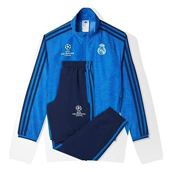 b33978e2d47bf adidas Real Madrid CF EU PR SU Y - Chándal para niños  Amazon.es  Deportes  y aire libre