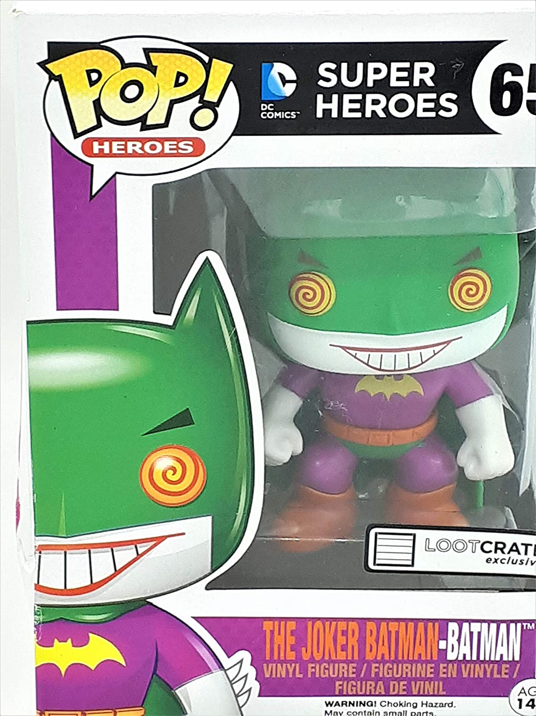 DC Comics Funko Pop! DC Joker Batman Figura de acción