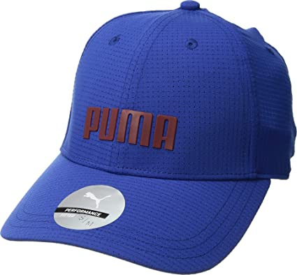 6f197ba653ff7 Amazon.com   Puma Golf 2018 Men s Breezer Hat (Sodalite Blue