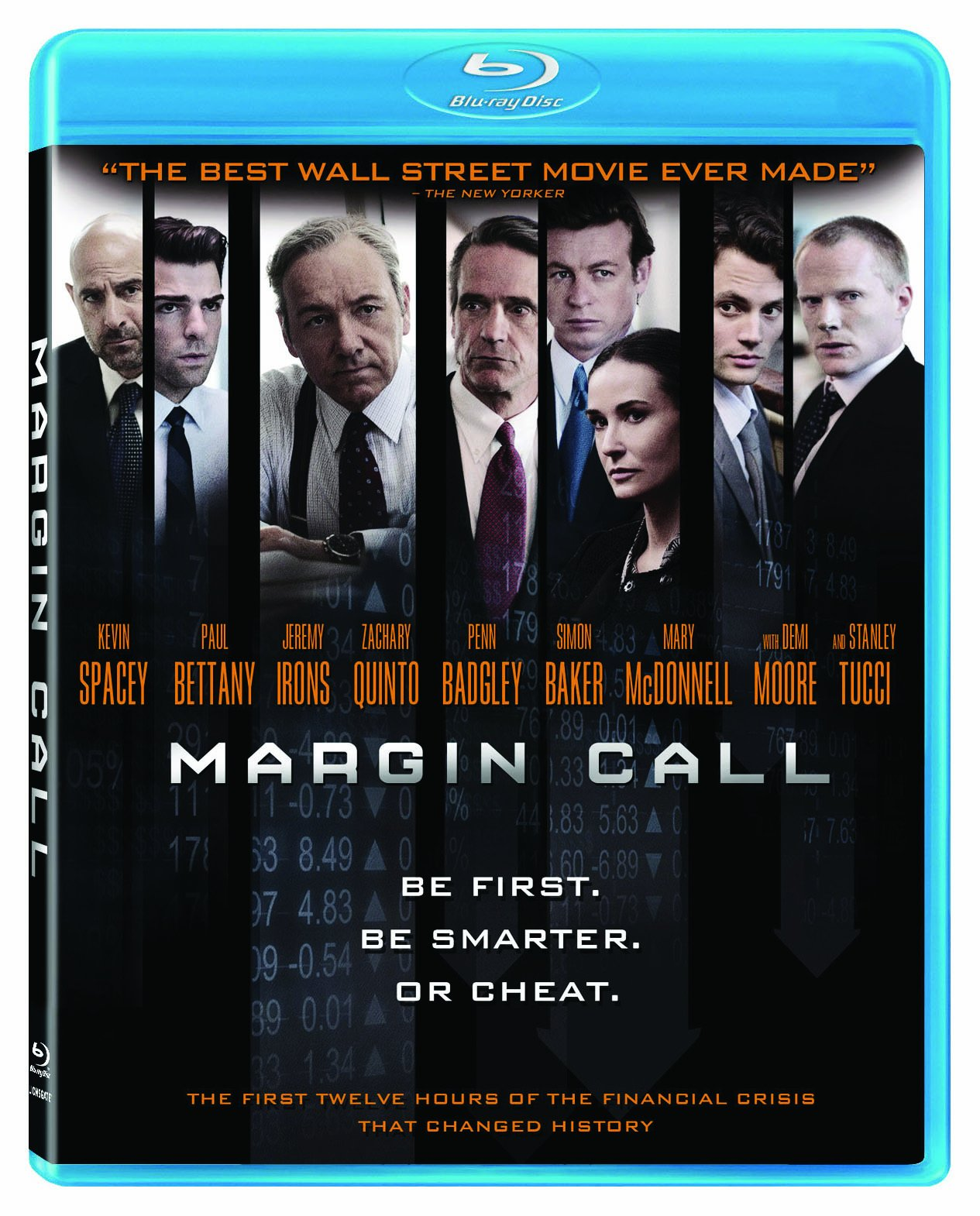 Blu-ray : Margin Call (Digital Theater System, AC-3, , Widescreen)