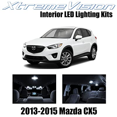 Xtremevision Interior LED for Mazda 6 2014+ (12 Pieces) Pure White Interior LED Kit + Installation Tool: Automotive