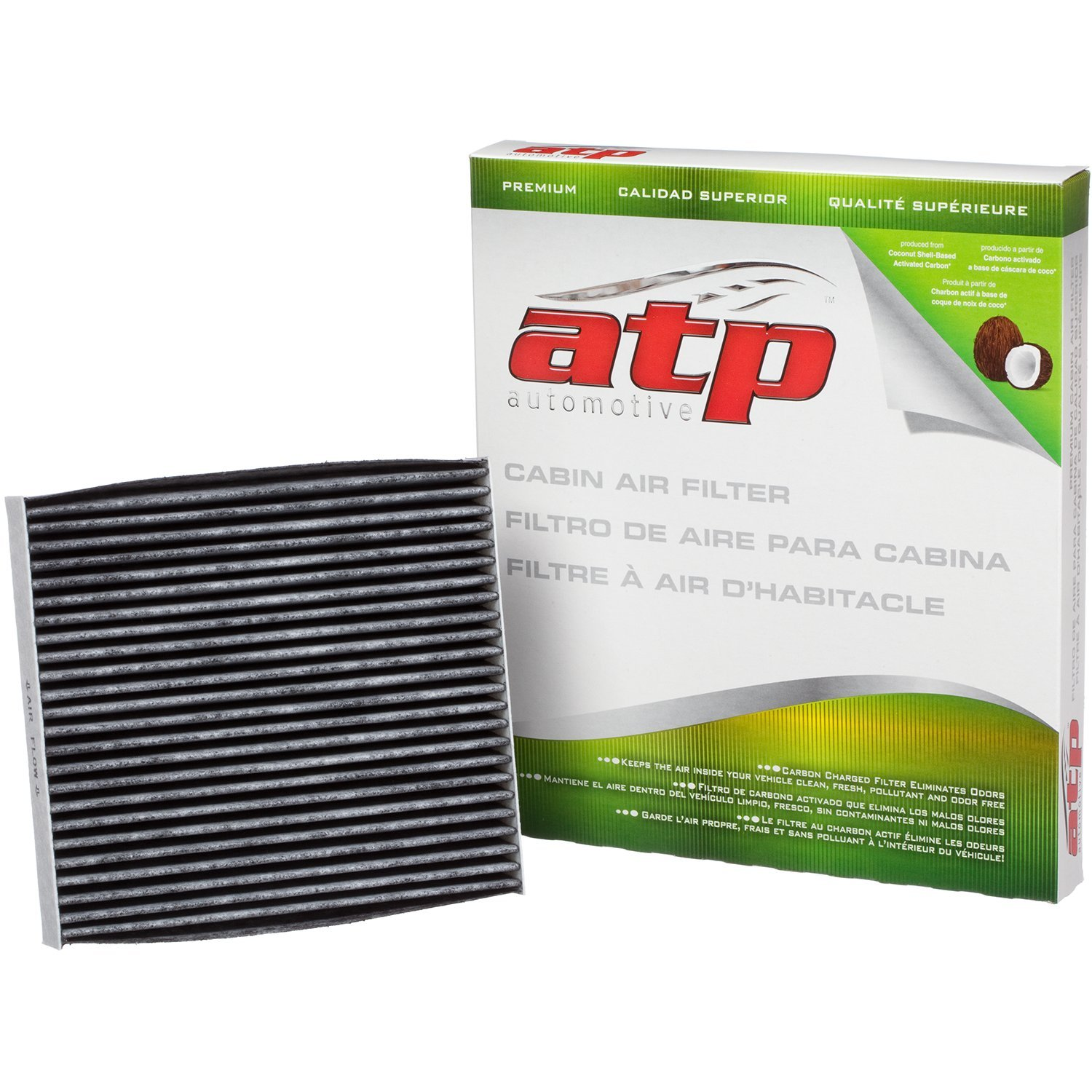 Amazon.com: ATP RA-31 Carbon Activated Premium Cabin Air Filter ...
