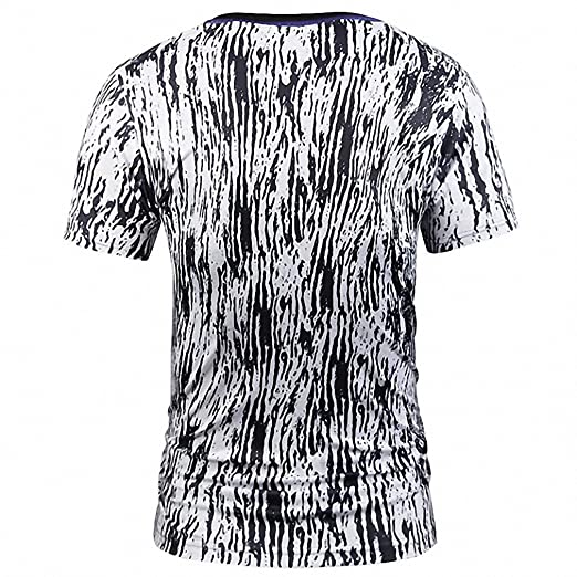 ICONLEE Fake Two Pieces T-shirt Fashion Men/Women 3d T-shirt Print Suit Jacket Skull Tops Tees Summer T shirt at Amazon Womens Clothing store: