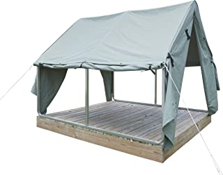 product image for Diamond Brand Gear Warhorse Canvas Wall Tent (with Frame)