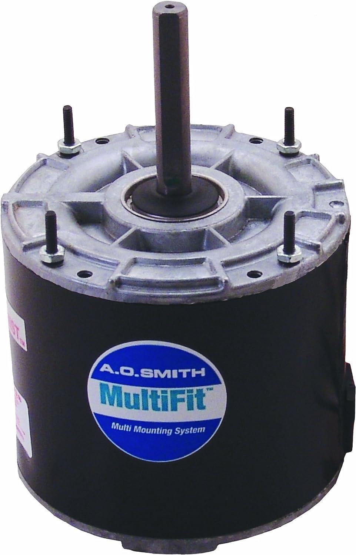 AO Smith 97225.0-Inch Frame Diameter 1/8 HP 1075 RPM 208-230-Volt 0.9-Amp Ball Bearing Multi-HP